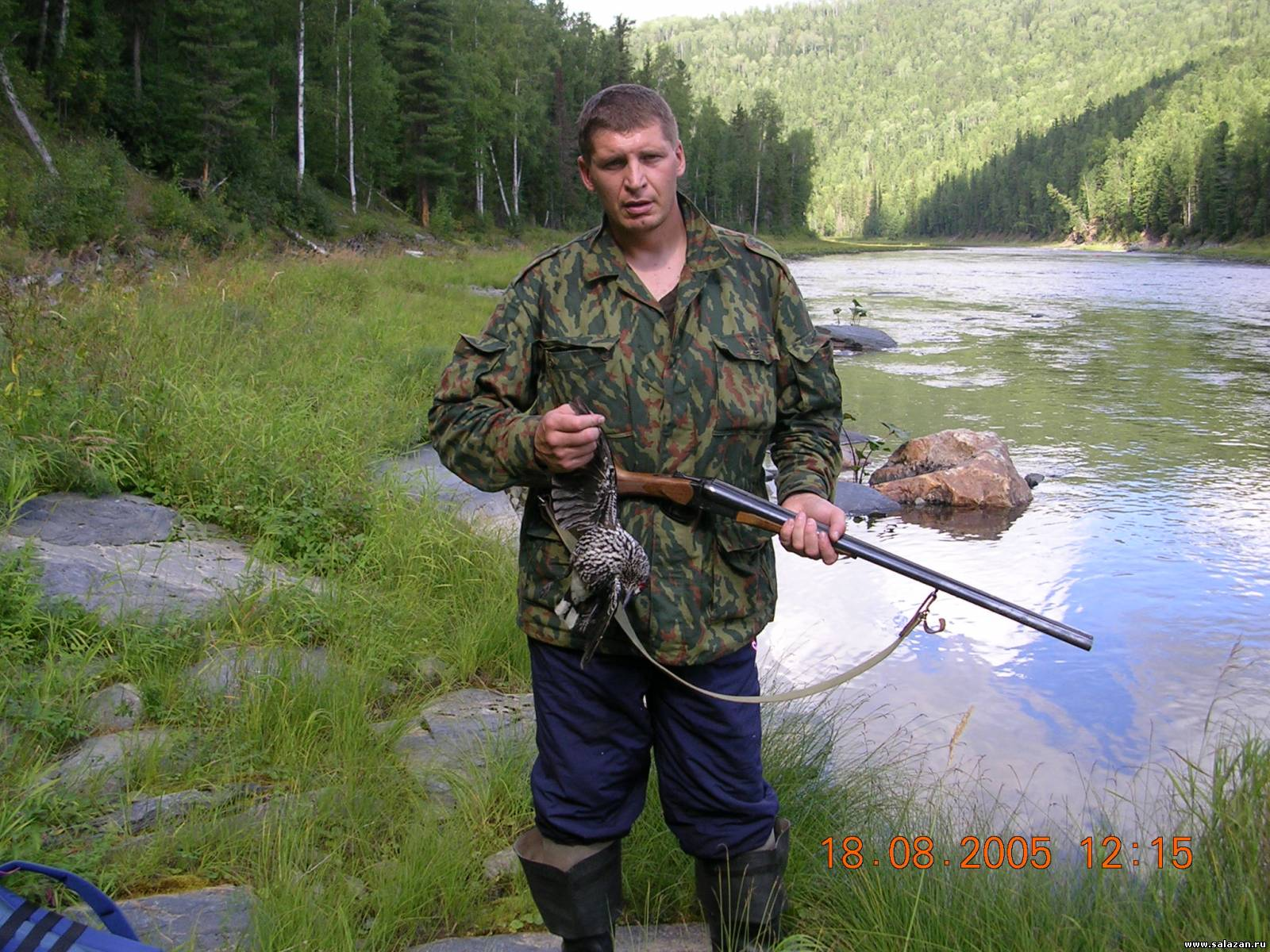 видео охота и рыбалка в тайге