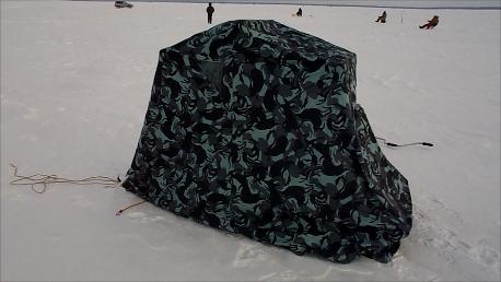 Обогреватель в зимнюю палатку своими руками