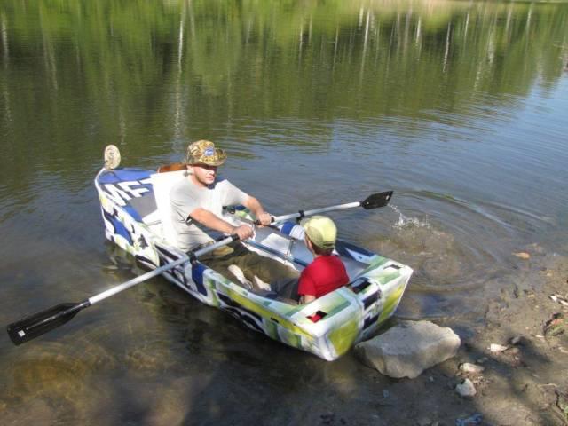 лавка для лодки пвх своими руками