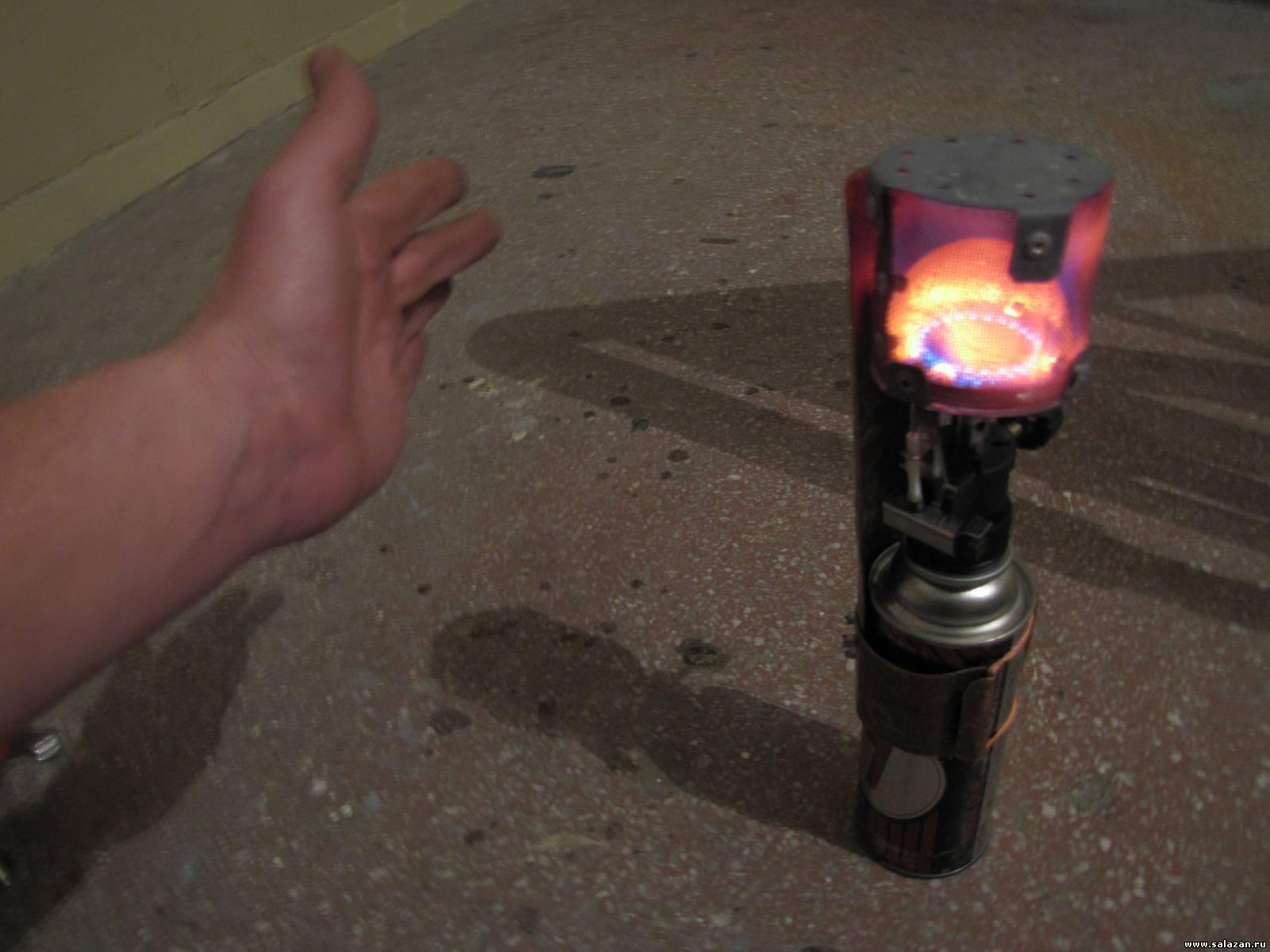 Газовые обогреватели своими руками